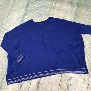 TOMMY HILFIGER  blue long sleeves sweater